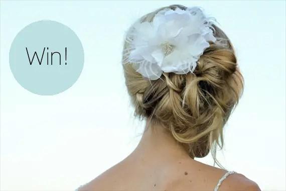 hair flower giveaway
