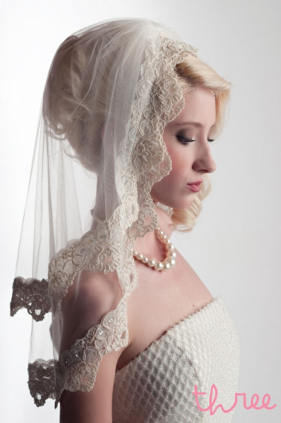 Handmade Bridal Veils - 'The Emma'