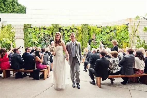 DIY Wedding Ideas - Succulent Backdrop