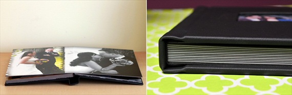 handmade wedding albums leatherbound cover