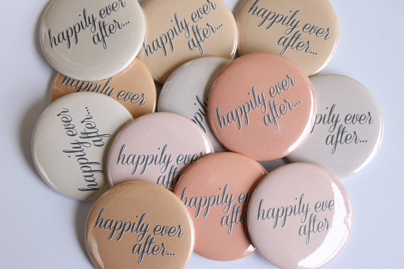 Happily Ever After - Favor Buttons