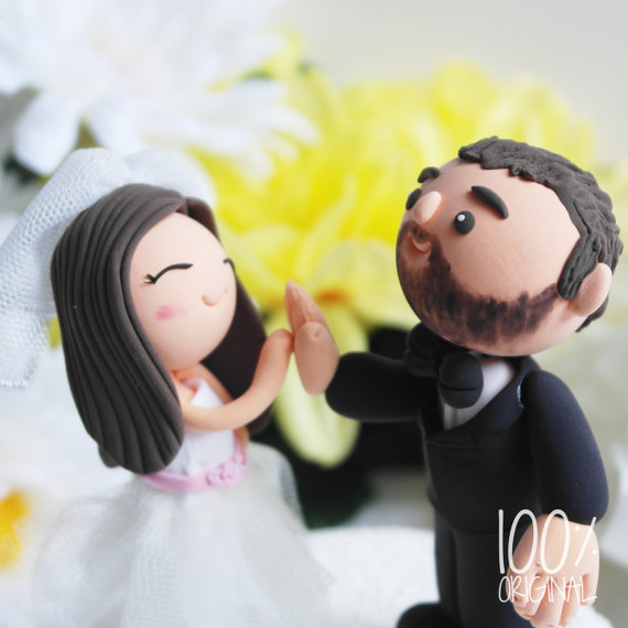high five cake topper 2