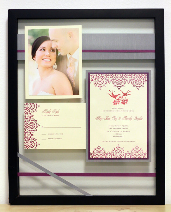 how to preserve your wedding invitation