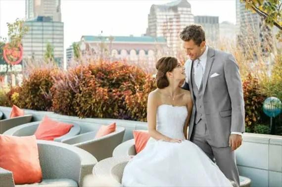 How to Select a Tuxedo: 3 Essential Tips (by EmmalineBride.com, photo: jos. a bank) #handmade #wedding #tips #groom