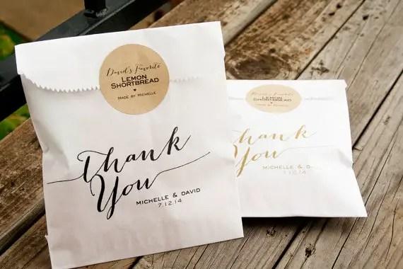 handmade wedding favor bag (mavora) via The Marketplace at EmmalineBride.com
