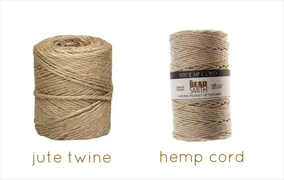 jute twine hemp cord