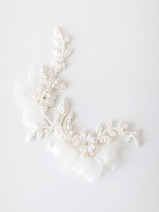 lace bridal headpiece 2