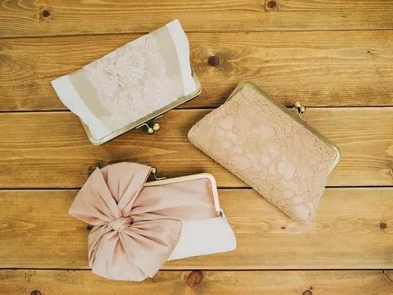 bridesmaid clutch sets