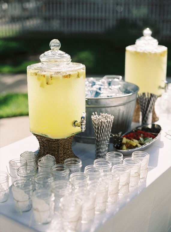 Wedding Drink Station Ideas