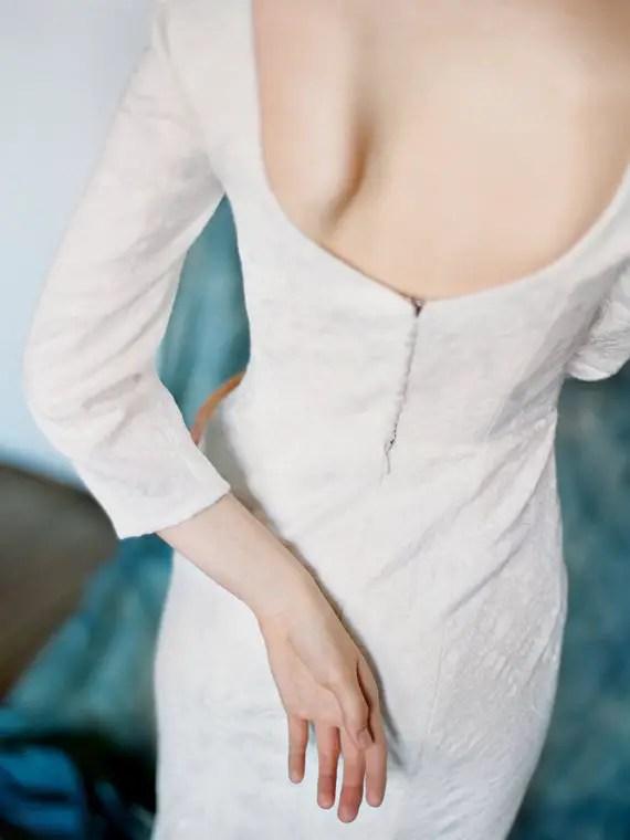 long sleeve dress - right