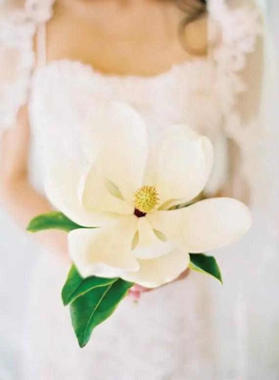 Magnolia Single Stem Bouquet - photo by Jose Villa