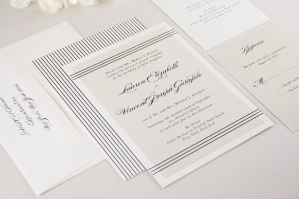 Modern Classic Wedding Invitations Modern Theme – Modern Classic Wedding Invitations