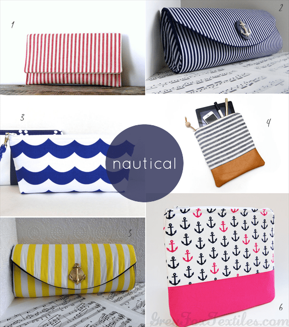 nautical wedding clutches - 50+ Wedding Clutches by Theme