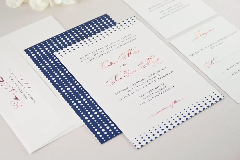 Modern Classic Wedding Invitations - Modern Theme