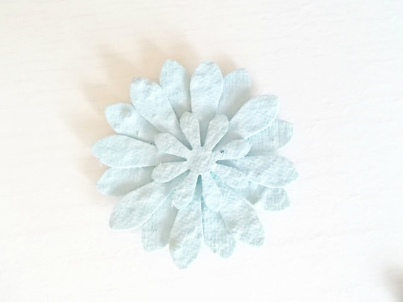 pale blue wedding seed plantables