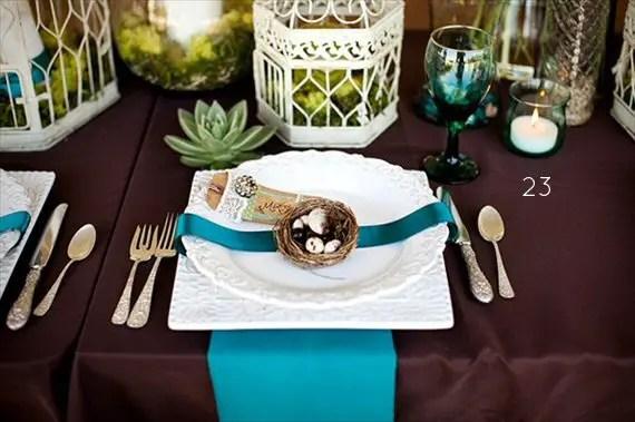 Amazing ... 25+ Stylish Peacock Wedding Ideas   Table Decor ...