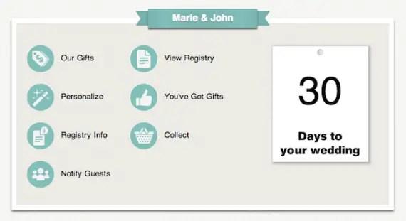 Wedding Gift List Online: Online Wedding Gift Registry - Wedding Republic