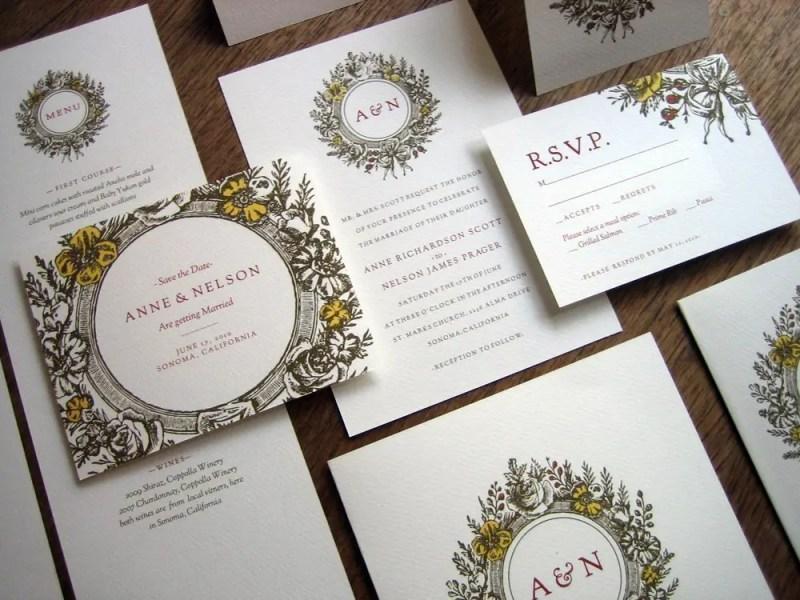 printable diy wedding invitations   Best DIY Wedding Projects via http://emmalinebride.com/decor/best-