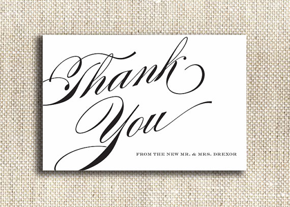 printable wedding thank you cards