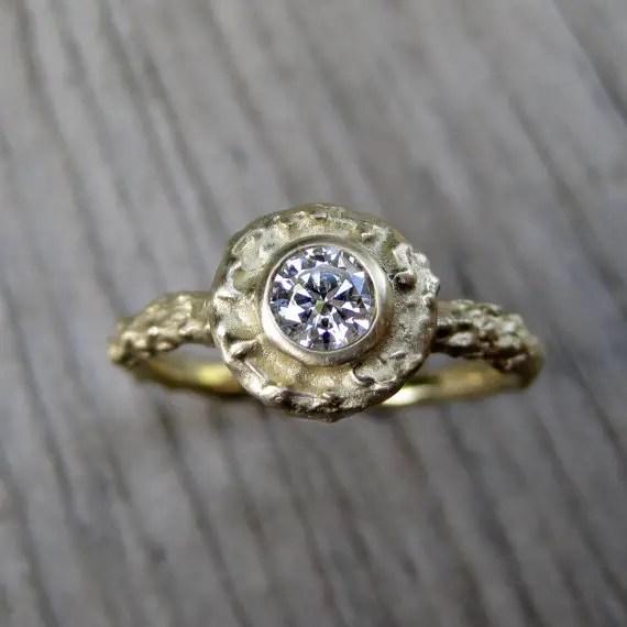 Eco Wedding Ideas - eco wedding ring by kristin coffin