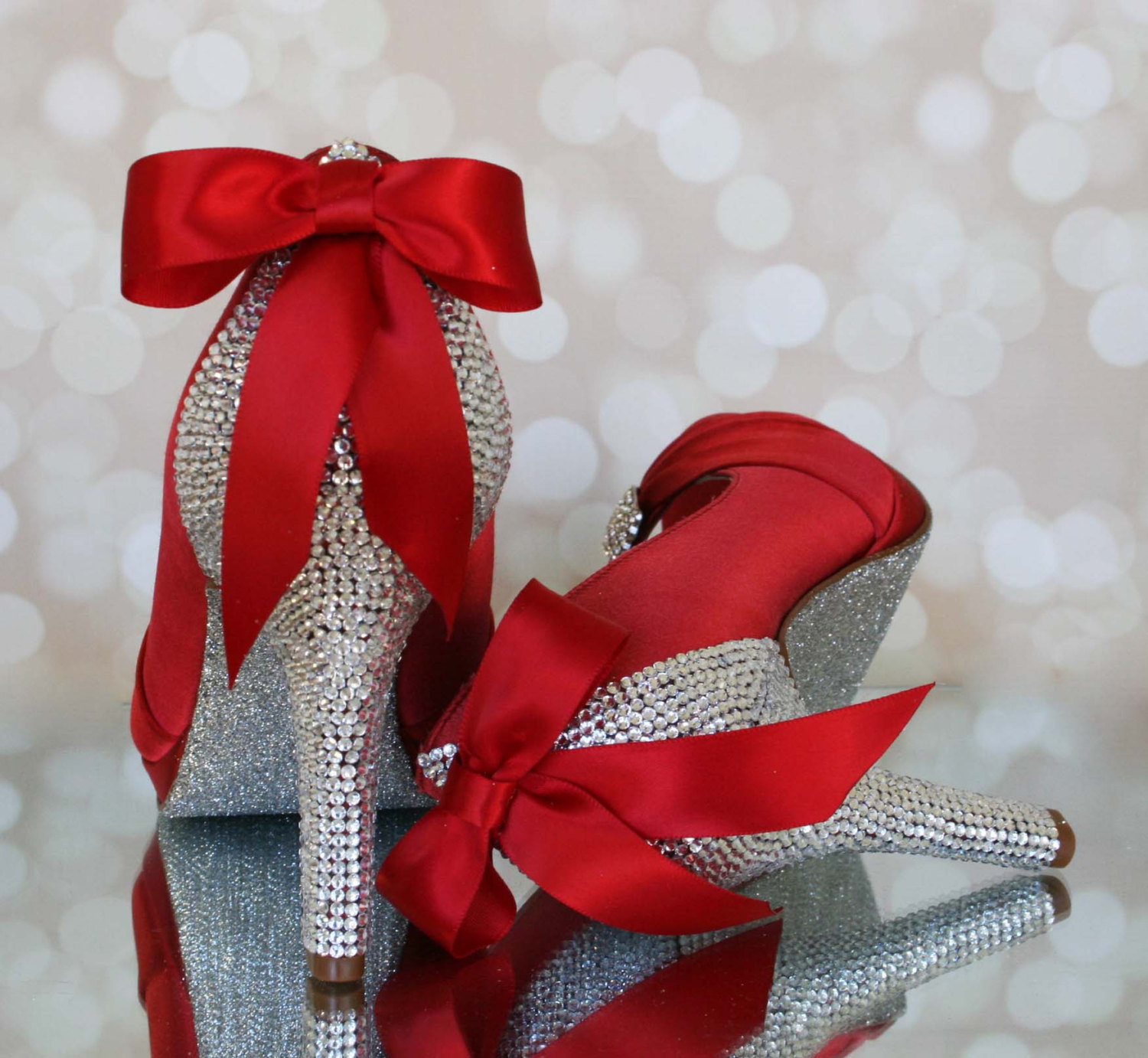 Jeweled Wedding Shoes For The Bride