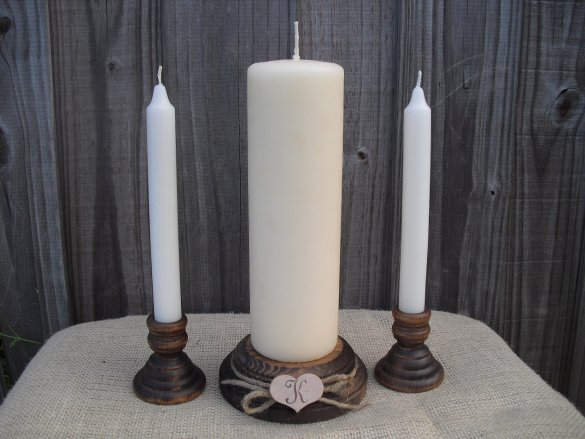 Unity Candles Weddings | Dazzling Expressions | http://emmalinebride.com/rustic/unity-candles-weddings/