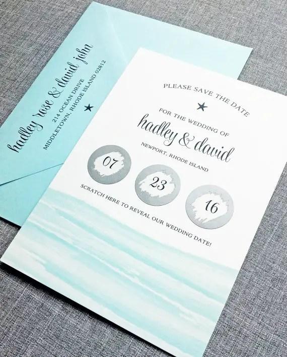 6 Creative Save the Date Ideas | Emmaline Bride Wedding Blog