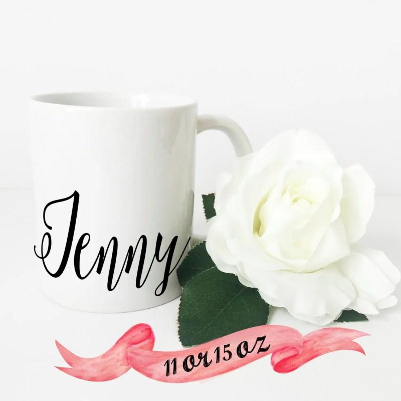 script coffee mug