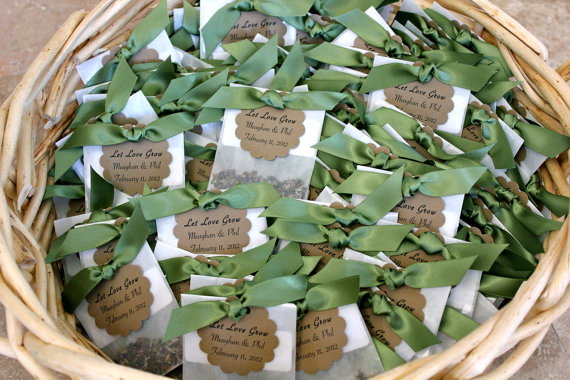 flower seed wedding favors flower seed favors win emmaline wedding 4208
