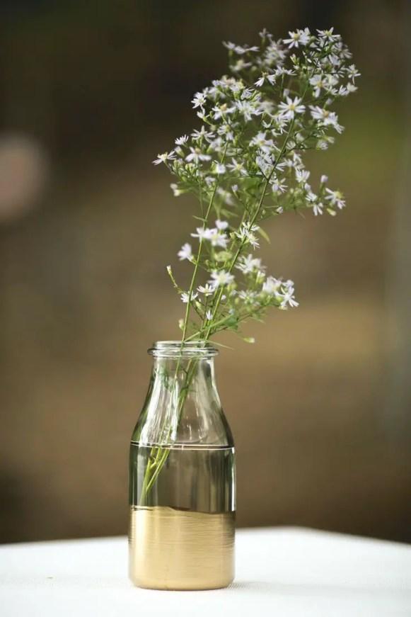 simple-gold-dipped-milk-bottles