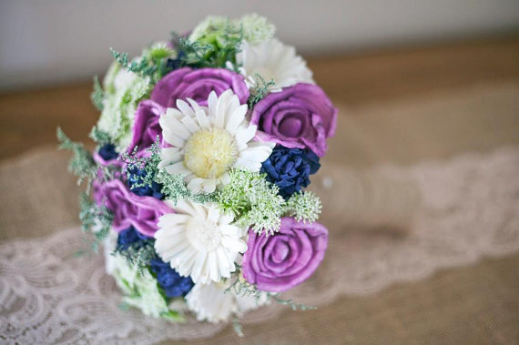 spring wild flower bouquet - 8 Perfect Ceremony Accessories