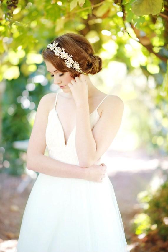 wedding headband   8 Alternative Wedding Veil Ideas from Tessa Kim
