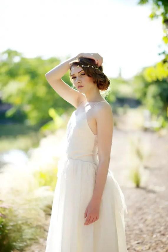 wedding hair crown | 8 Alternative Wedding Veil Ideas from Tessa Kim