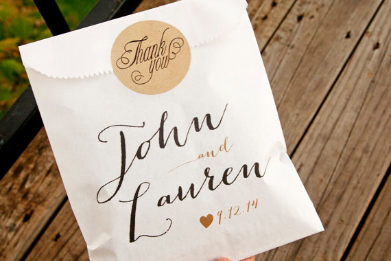 Favor Bags That Are Totally Customized