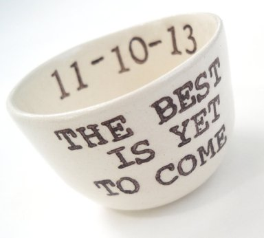 The Best Is Yet to Come Ring Dish by Elycia Camille