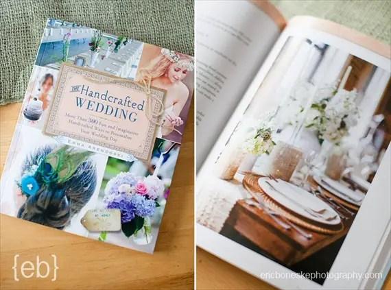 Engagement Gift Ideas (The Handcrafted Wedding by Emma Arendoski) #books #wedding-planning #wedding #engagement