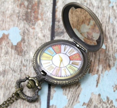 vintage pocket watch   via http://emmalinebride.com/planning/tips-to-be-on-time/
