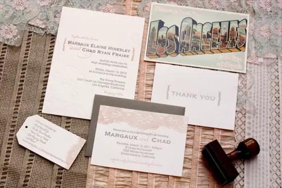 Simple Vintage Wedding Invitations: 8 DIY Wedding Ideas You'll Want To Steal