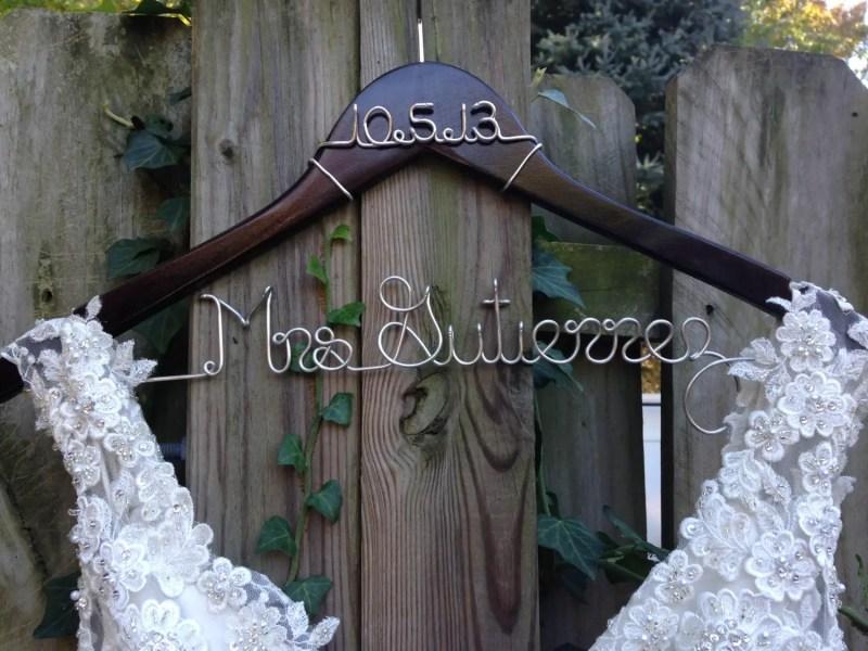 bride groom hangers