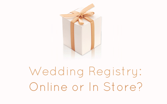 Wedding Registry Online or In Store? - Ask Emmaline via EmmalineBride.com