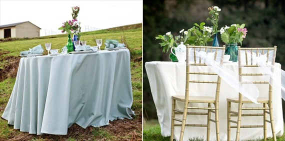Wedding Tablecloths Linens The  Planning Tool Emmaline - Wedding table linens
