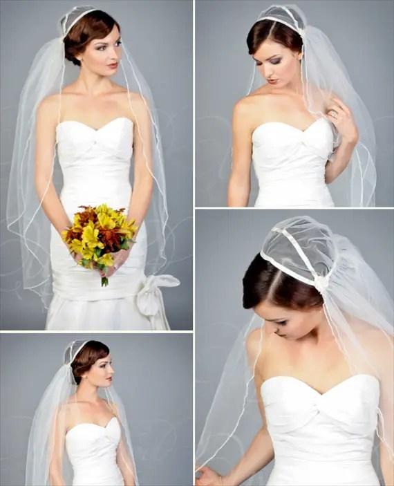 Wedding Veil Styles: Wedding Veil Styles (+ How To Design Your Own)