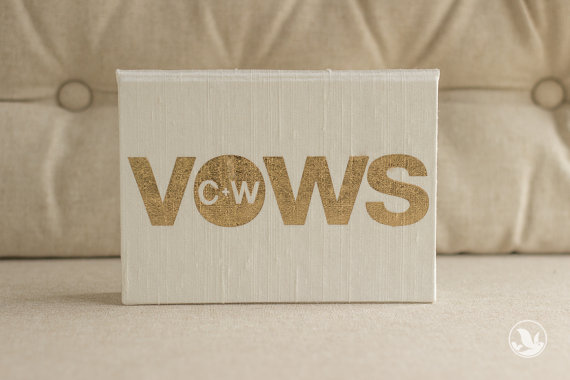 wedding vow book personalized via 8 Wedding Vow Mistakes to Avoid