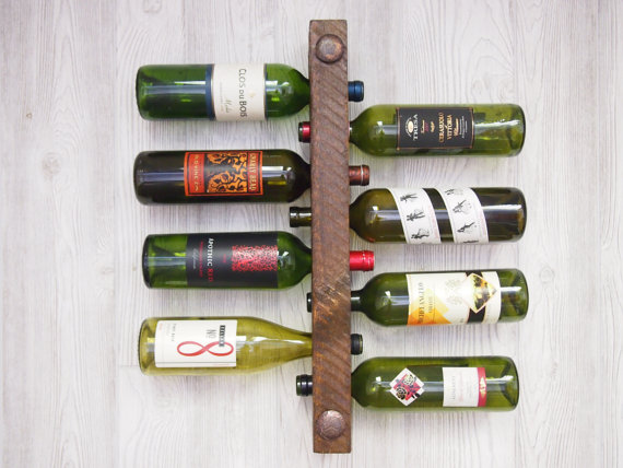 wedding gift ideas from a to z - wine rack by vetrina del vino