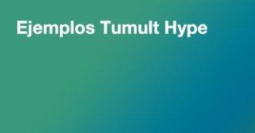 ejemplos Tumult Hype