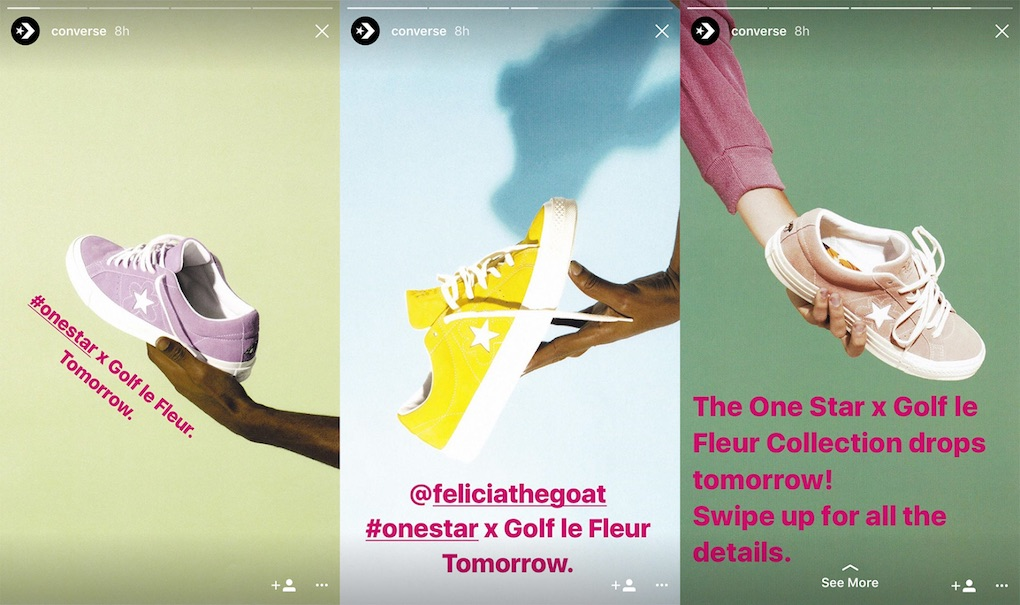Converse - Stories Instagram