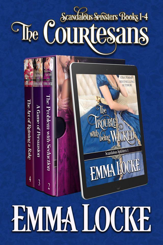 Book Cover: The Courtesans: Books 1-4