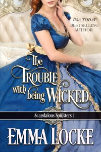 Book Cover: The Trouble with being Wicked
