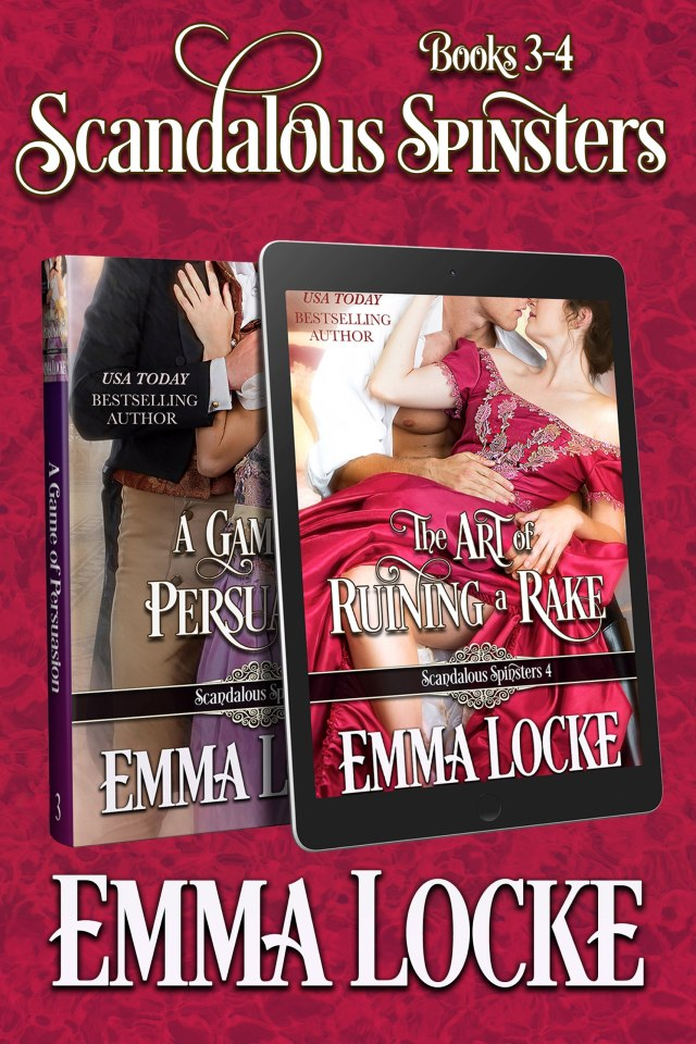 Book Cover: Scandalous Spinsters (Books 3-4) Boxed Set