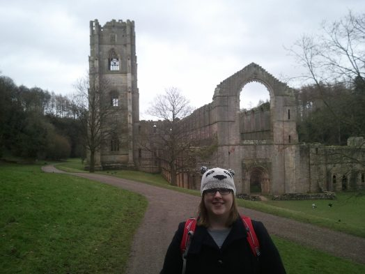 Me at Fountains Abbey